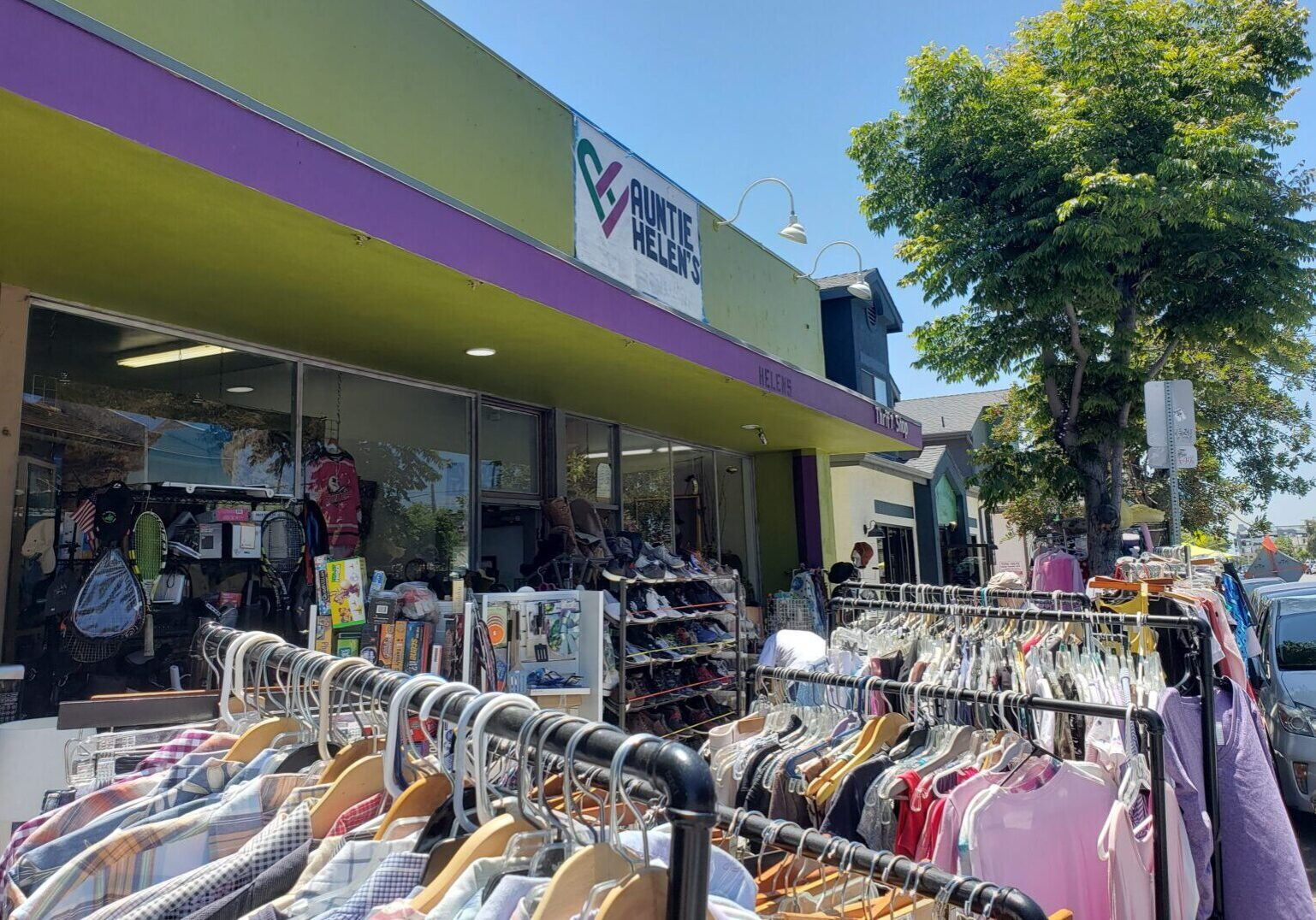 Thrift Store Front